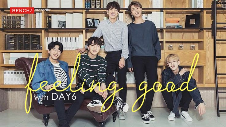 """MyDays, are you """"feeling good"""" today?  Got a little surprise for you!  #DAY6xBENCH #DAY6<br>http://pic.twitter.com/xKzR06YQBo"""