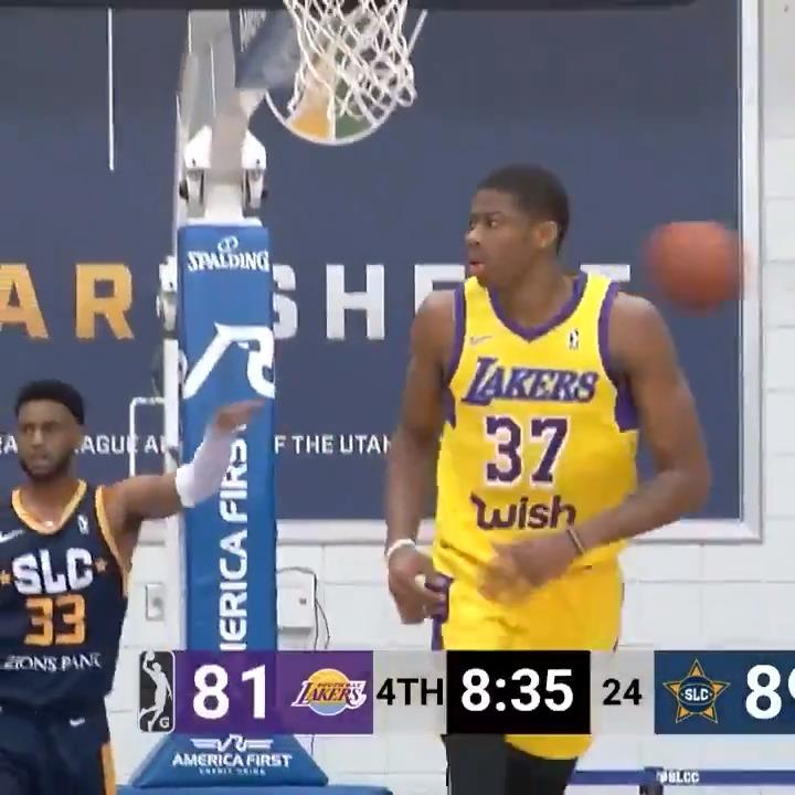 rise up 🛫 #2WayPlayer @Kostas_ante13   @DaytonMBB ↗️ @SouthBayLakers ↔️ @Lakers