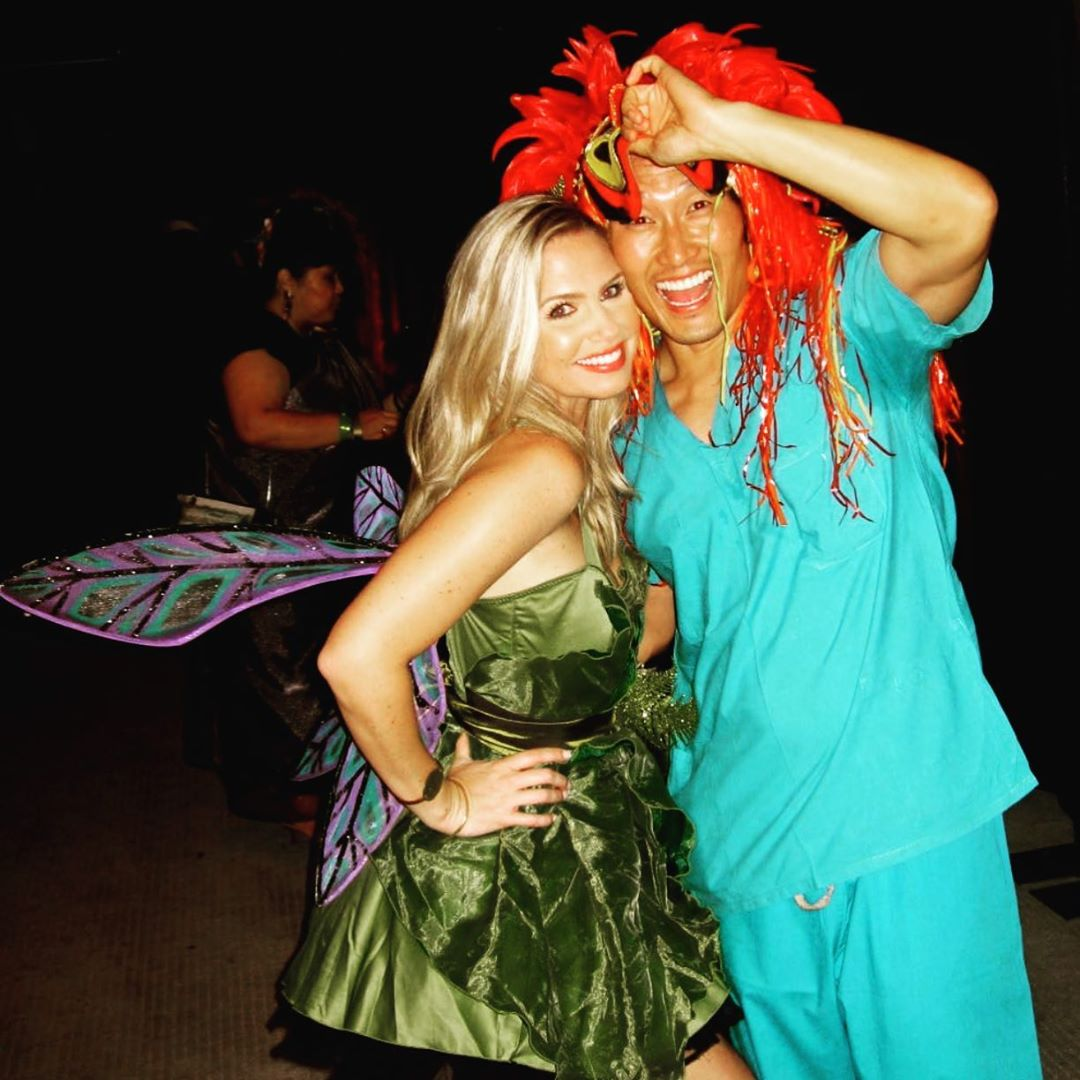 #REPOST @danieldaekim  #tbt to #Halloween 2011, a night when I could really let my (red) hair down. Ever #grateful to this #tinkerbell for always having my back. #mahalonuiloa @GoodDoctorABC