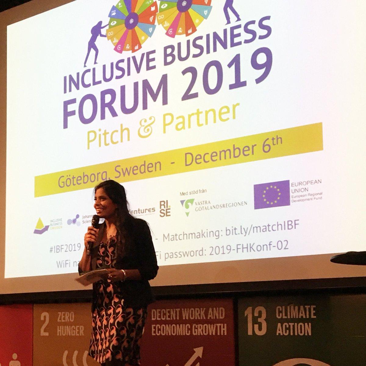 Inclusive Business Forum 2019 kicking off in Göteborg #ibf2019  #socentpic.twitter.com/CUCMdO8nbc
