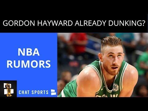 NBA Rumors: Carmelo Anthony Joins Rockets, Clippers Fire Bruce Bowen, Gordon Hayward Dunking https://t.co/0F653X8TV9 https://t.co/7QC7a8pMvV