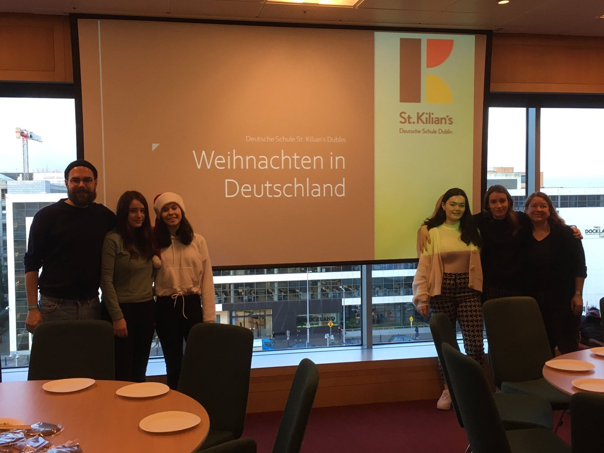 test Twitter Media - St. Kilian's is delighted to be in the Convention Centre today holding a Christmassy workshop through German for lots of #transitionyear students from all over Ireland. @langsconnect_ie @TheCCD https://t.co/E9dMp0I6wM