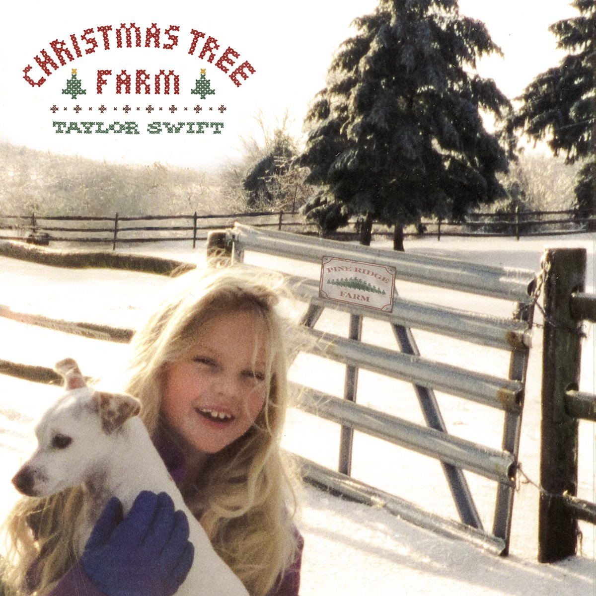 I actually did grow up on a Christmas tree farm. In a gingerbread house, deep within the yummy gummy gumdrop forest. Where, funnily enough, this song is their national anthem. #ChristmasTreeFarm song and video out now 🎄taylor.lnk.to/XMASTreeFarm