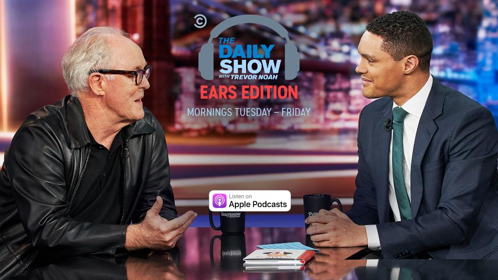 """Nancy Pelosi gives the go-ahead for impeachment articles against President Trump, @jaboukie consults the founding fathers, and @JohnLithgow discusses """"Bombshell.""""LIsten and subscribe: https://on.cc.com/2r9RTZz"""