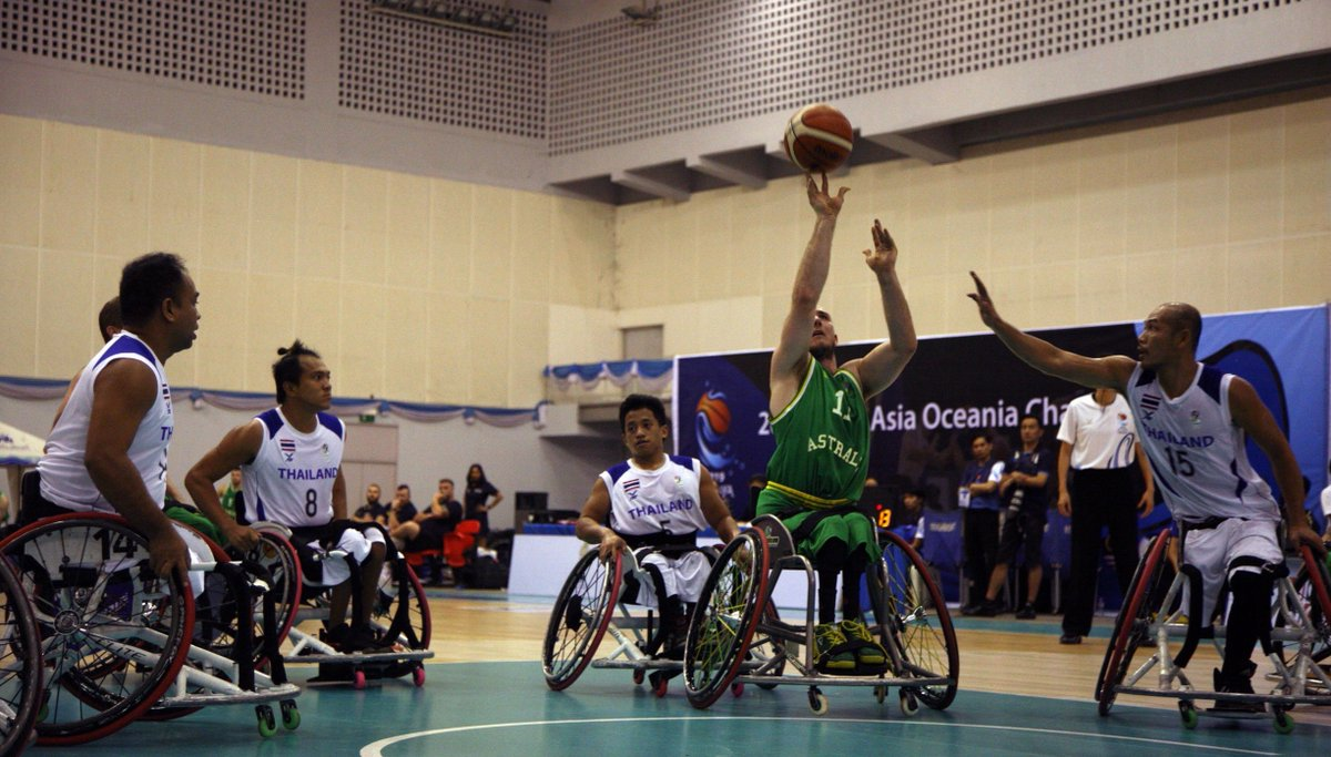 The Australian Rollers have defeated Malaysia by a huge 52 points for a spot in the AOZ Championships and more importantly a qualification for the Tokyo 2020 Paralympics.  😱👏  READ MATCH REPORT: http://bit.ly/RollersWinOverMal …  #Rollers #WeAreBasketball #AOZChampionships
