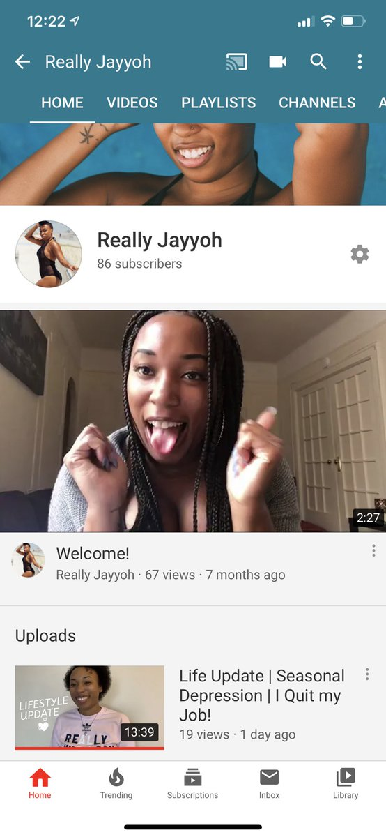 Tryna get to 100 #youtube subscribers before this year is done! Help ya girl out! #YouTubeRewind  #beautyblogger #lifestyleblogger #vlog #vlogger #2019ArtistWrapped   #BloggerLoveShare #freelancer<br>http://pic.twitter.com/rNitTeyo06