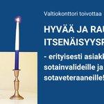 Image for the Tweet beginning: Valtiokonttori toivottaa hyvää ja rauhallista