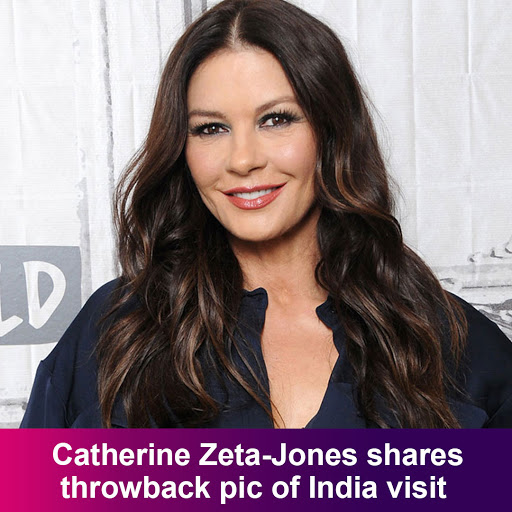 Catherine Zeta-Jones shares throwback pic of India visitREAD MORE STORIES :DOWNLOAD BEYOND Pink APP NOW :Play Store: (link: https://goo.gl/GknGX5 ) http://goo.gl/GknGX5 App Store: (link: https://lnkd.in/gwK6MK ) http://lnkd.in/gwK6MKq  #set  #actress  #movies  #video