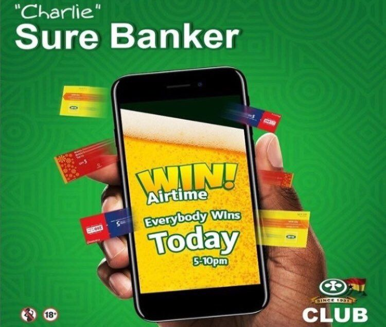 Today being a holiday marks the start of the long weekend  The sure banker campaign is still on so during this weekend and holiday, you're advised to purchase bottles of Club Beer and expect to be rewarded with amazing prizes!  #DrinkResponsibly  #OneGhanaOneClub   18+ and above<br>http://pic.twitter.com/kE6bHQLw0m
