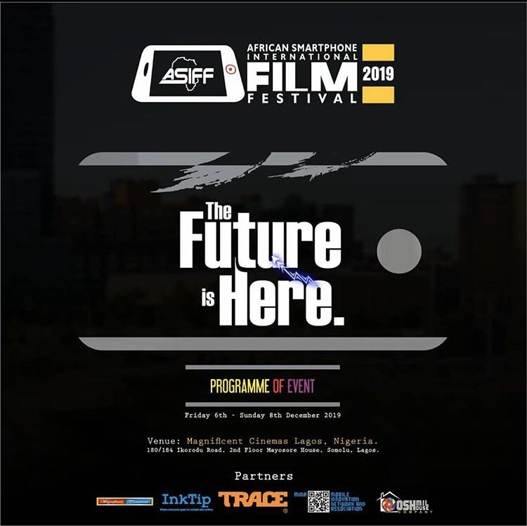 African SmartPhone International Film Festival starts today fam! My Film EXIT will screen today!  EXIT written by Ahmed Bello Directed by Uyoyou Adia  Shot by Uyoyou Adia  Cast : Amanda Oruh and Ahmed Bello  Shot on an iPhone 7  #Shortfilm #Exit<br>http://pic.twitter.com/D4XrN1WHxu