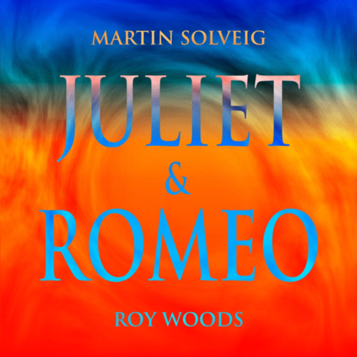 Today's the big day! My new single 'JULIET & ROMEO' with @RoyWoods is out now 🧡 Hope this song will brighten your day! martinsolveig.lnk.to/JulietandRomeo