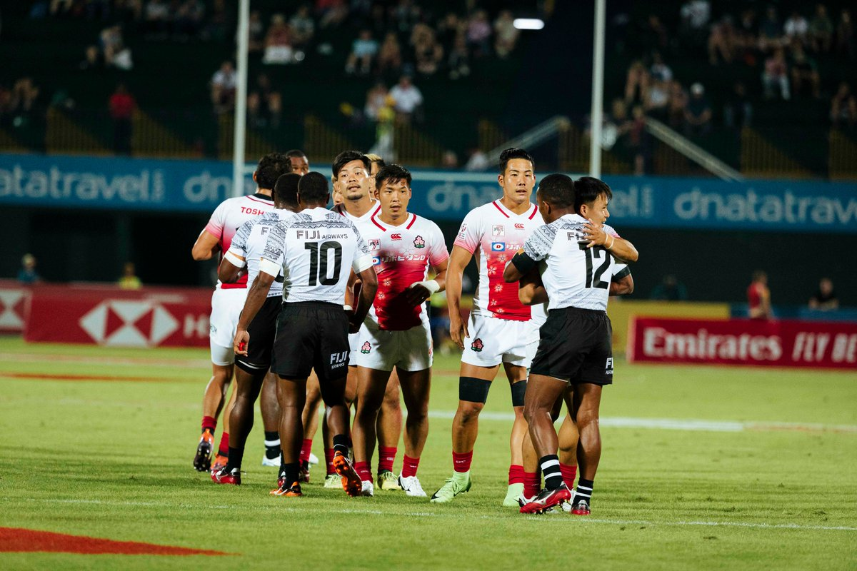 The side of the #HSBC7s we all love to see. 👏 @JRFURugby @fijirugby #Dubai7s
