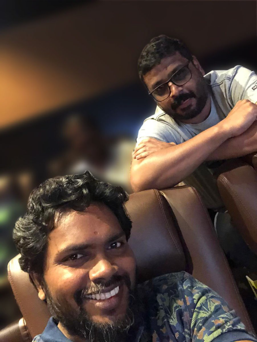 The man who directed Superstar twice & Pa Ranjith. @beemji<br>http://pic.twitter.com/qjH8S0oc8j