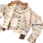 Image for the Tweet beginning: Linen jacket by Agnes Richter,