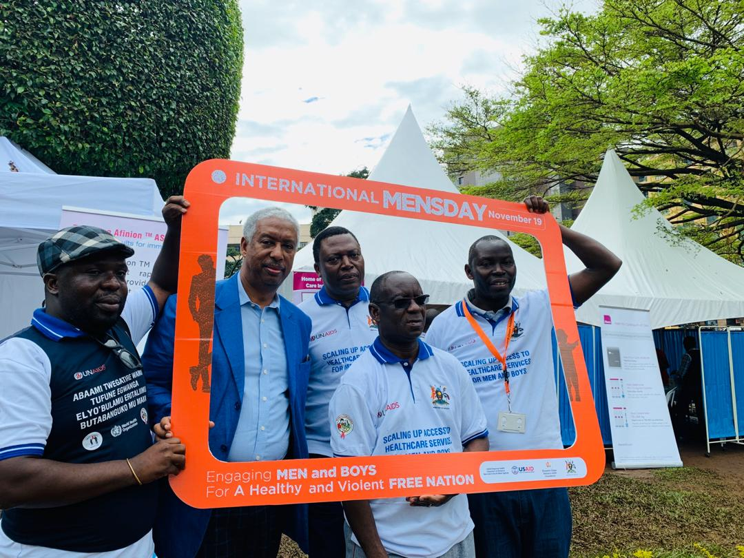 Proud to be at the commemoration of the #InternationalMensDay, calling for Engagement of Men and Boys for a Healthy and Violent Free Nation. Male-involvement in all facets of public health is key to achieving great strides in the health sector.