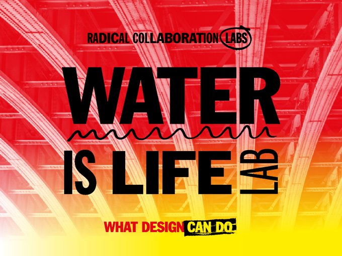 Vandaag slaan we de handen ineen met @whatdesigncando voor het #WaterIsLife lab. We hebben de mouwen opgestroopt om de gevolgen van klimaatverandering op het Amsterdamse water te tackelen. Volg alle ontwikkelingen 👉 #RadicalCollaborationLabs