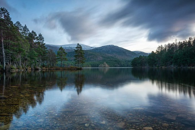 Good Morning Twitter Friends Have a wonderful #FridayFeeling everyone Reflect on your week and the forth coming weekend  Loch an Eilein looking fantastic in the Carngorms Scotland  <br>http://pic.twitter.com/rzt3nl1BNI