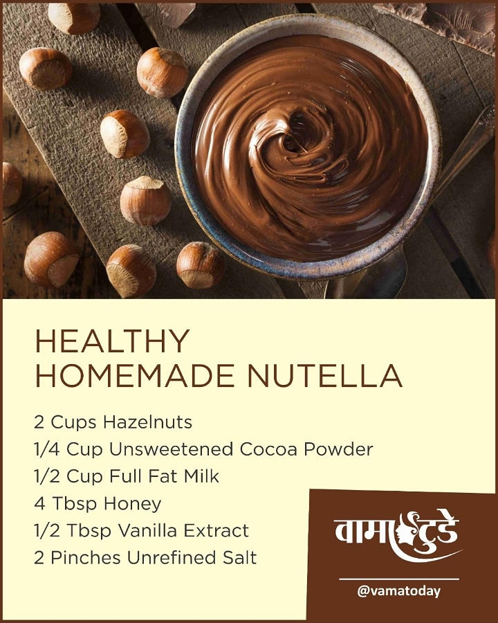 This Homemade Nutella Is Actually Healthy, Sugar-Free, Dairy Free, Low Carb & Made With Only 6 Ingredients! <br>http://pic.twitter.com/kNkRjV3mLJ