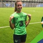 Image for the Tweet beginning: Caitlin St. Leger of DEFC