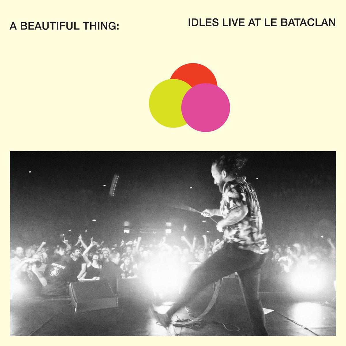 IDLESのLive盤『A Beautiful Thing』は最高なので、皆様どうか聴いてください。よろしくお願いします。Apple Music↓Spotify↓