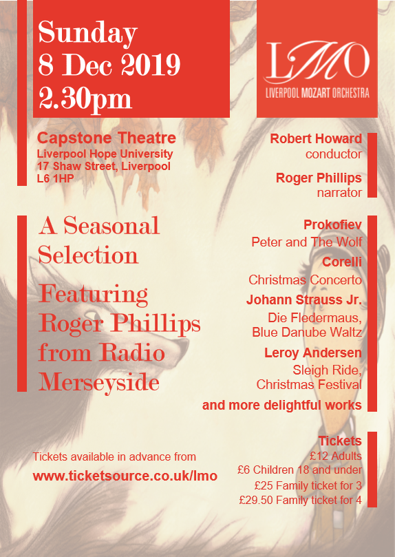 Only one last rehearsal between now and tomorrow's Christmas matinee concert: let's keep ourselves chirpy...