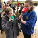 Image for the Tweet beginning: Hot chocolate treat for Primaries