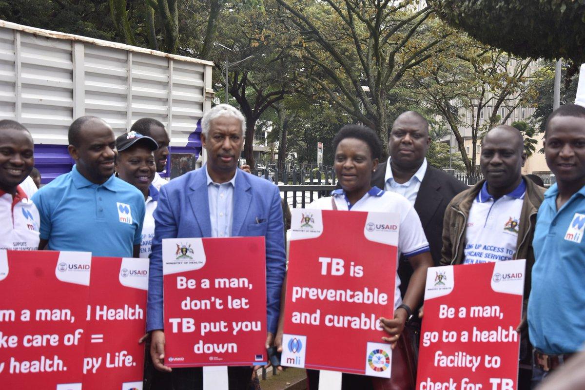 We march for good health, what do you march for? @MinofHealthUG @RHUganda @SonkeTogether @MenEngageUganda @STFUganda #16DaysOfActivism #InternationalMensDay