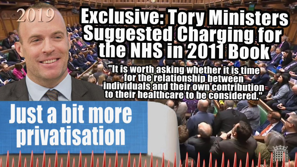 Exclusive: Tory Ministers Suggested Charging for the NHS in 2011 Book #NHS #NHSForSale #NHSCuts #privatisation #costofjohnson #CostofConservatives vice.com/en_uk/article/…