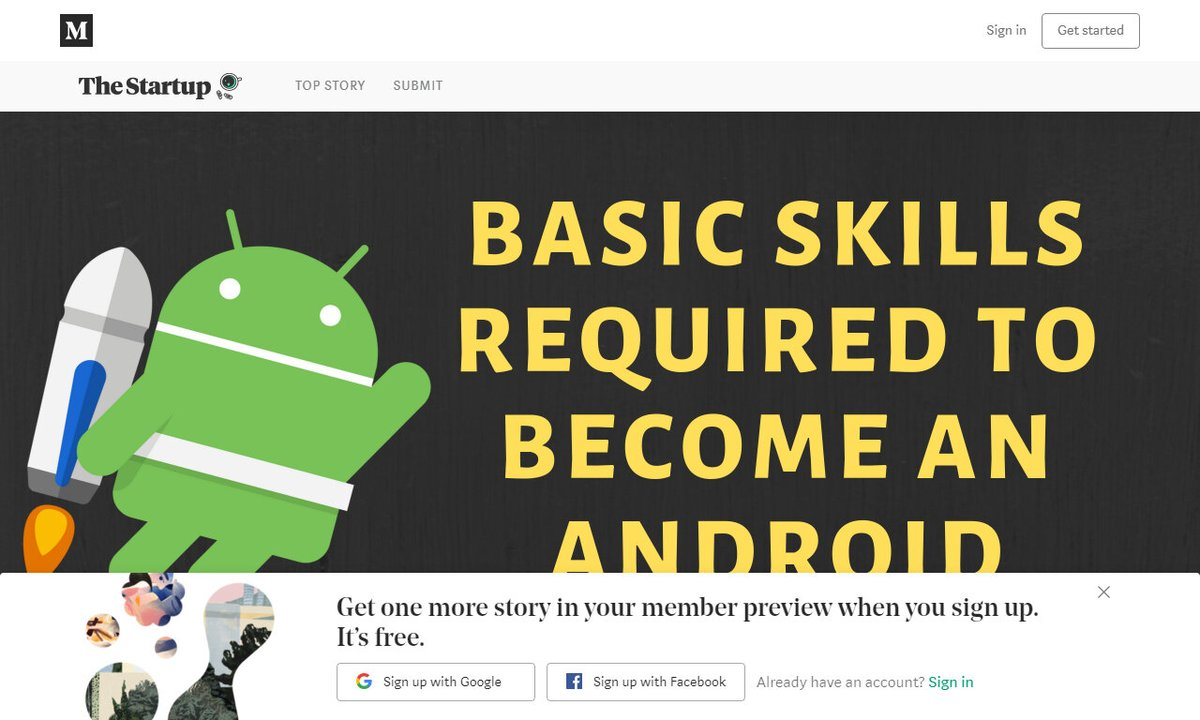 Basic Skills Required to Become an Android Developer #java #androiddeveloper #backend #developer #android #development via @medium ☛  http:// amp.gs/ipaq     <br>http://pic.twitter.com/1K0mqHClCJ