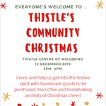 Image for the Tweet beginning: Come along to Thistle next