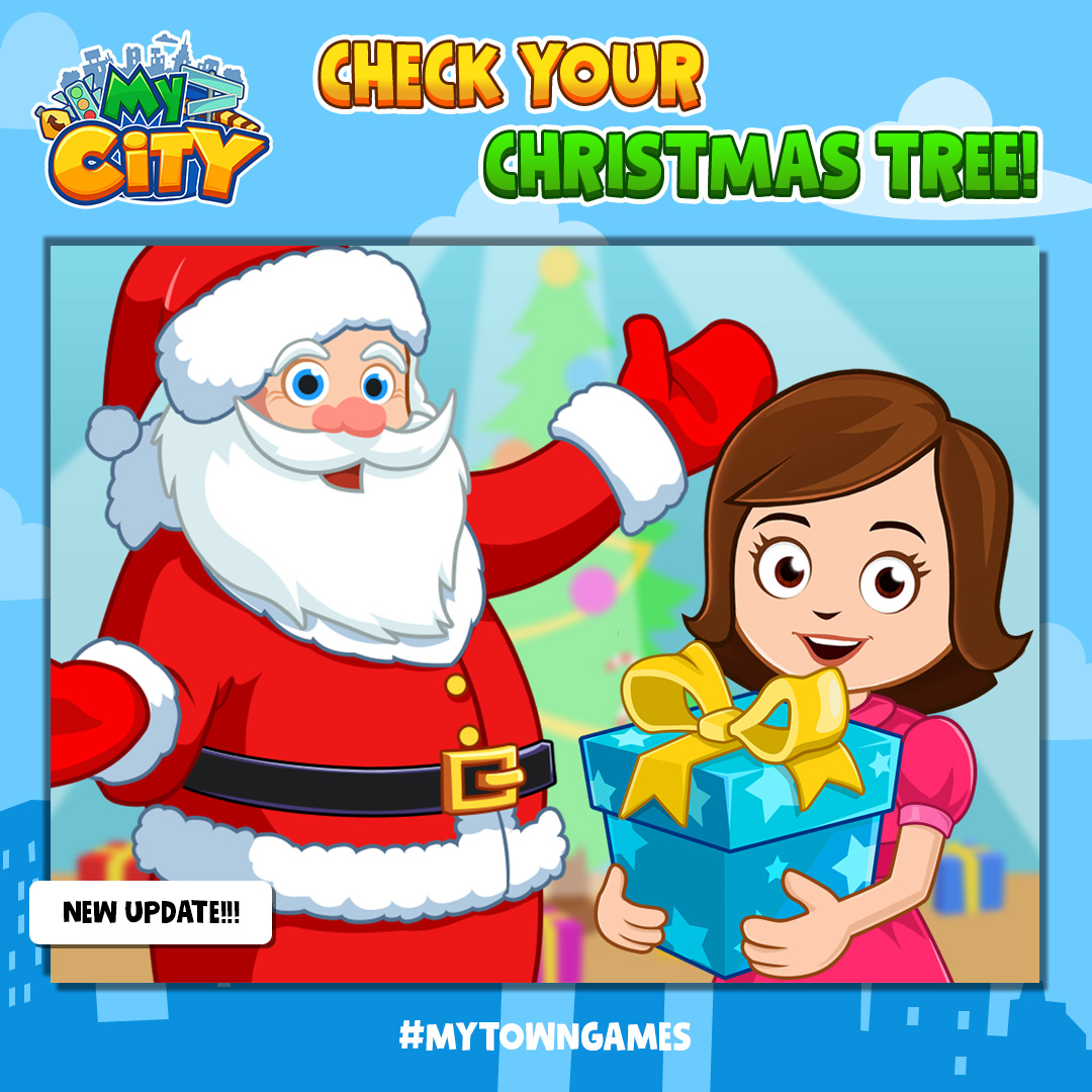 my town on twitter new christmas update for my city home if you don t have the game yet purchase it now while it still on sale https t co ejgdp47f3w mytowngames christmas newupdate kidsapp kidsofinstagram my town on twitter new christmas