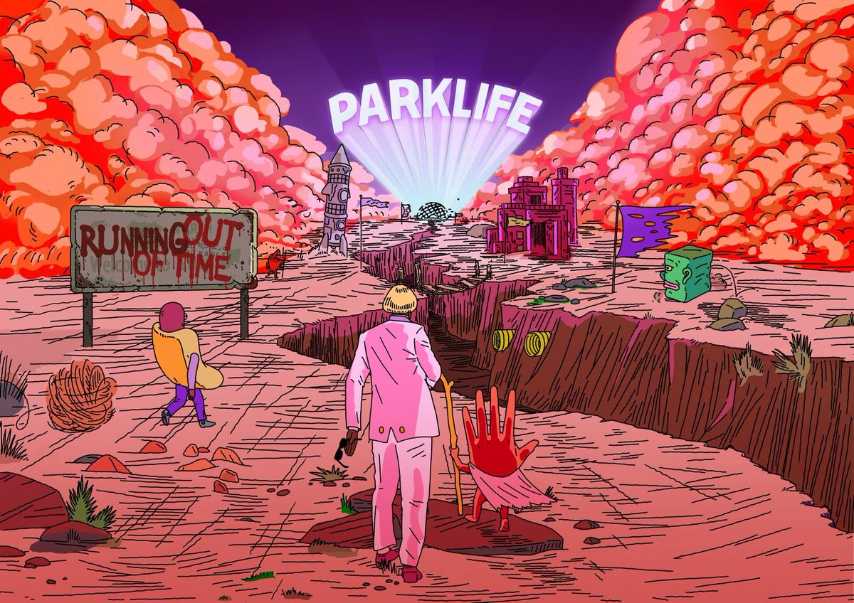 Hey...it's coming. Happy Friday #Parklife20