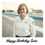 Wishing a special Happy Birthday to @Susie_Wolff 🥳🎉🎂