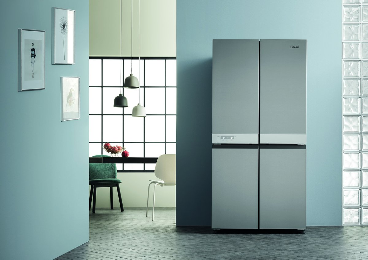 test Twitter Media - If you have lots of mouths to feed this Christmas, then the Hotpoint Active Quattro fridge freezer is ideal for you. With an impressive capacity of 591 litres, it's perfect for storing all of your festive treats! #FactFriday https://t.co/k3AVNYMb6A