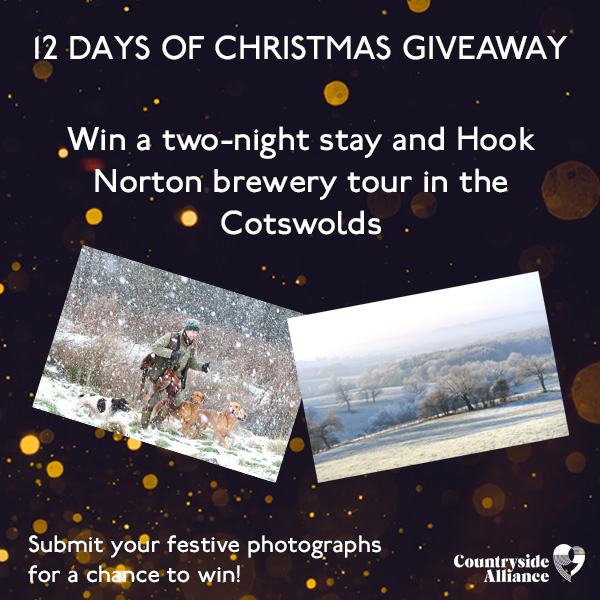 Dont forget, you could #WIN a two-night-stay at @thefoxatchippy and a tour of @HookyBrewery when you enter our #12DaysofChristmas competition!🎅🎄 Simply submit your festive #countryside #photographs to enter➡️bit.ly/2rELBAI Entries close on 12th December