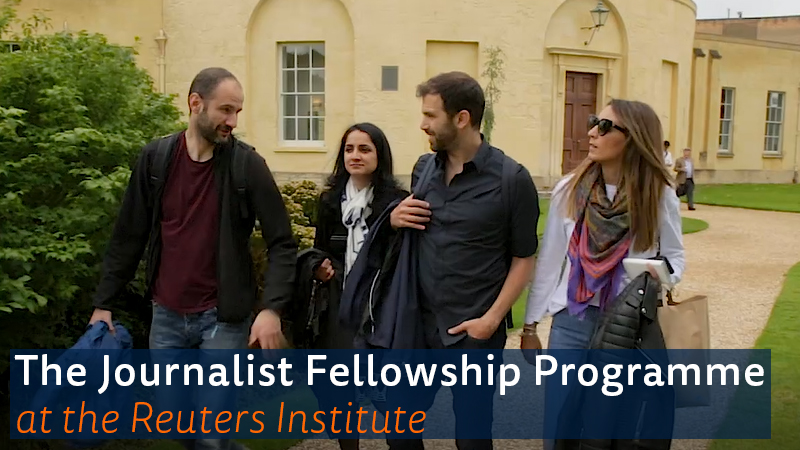 Image for the Tweet beginning: 📢 Our Journalist Fellowship Programme