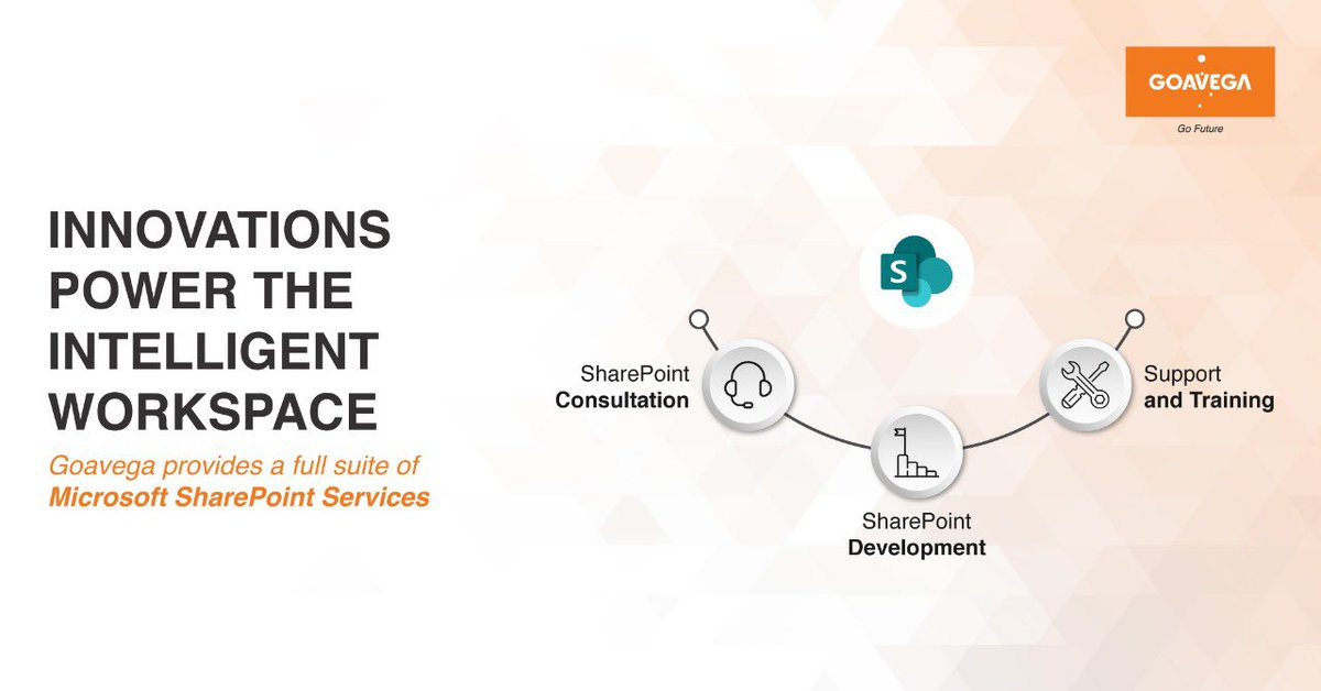 If you want to maximize the powerful capabilities of SharePoint for your business, talk to our expert consultants today.   http://www. goavega.com      #Goavega #sharepointdeveloper #sharepoint #productdevelopment<br>http://pic.twitter.com/SnZ9yCV9J9
