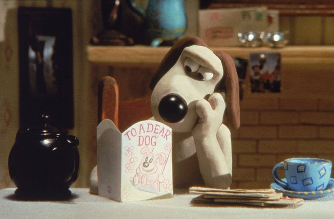 Happy birthday to me but also to Nick Park