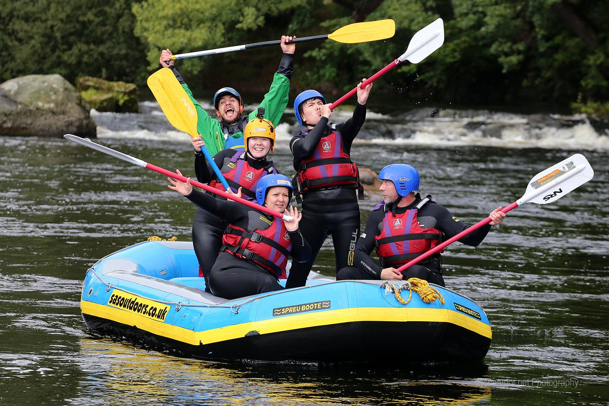#FridayMotivation some #awesome groups #Whitewater #Rafting with us @WWAct #Llangollen #NorthWales   #WhitewaterActive #FridayFeeling #AllYearRound