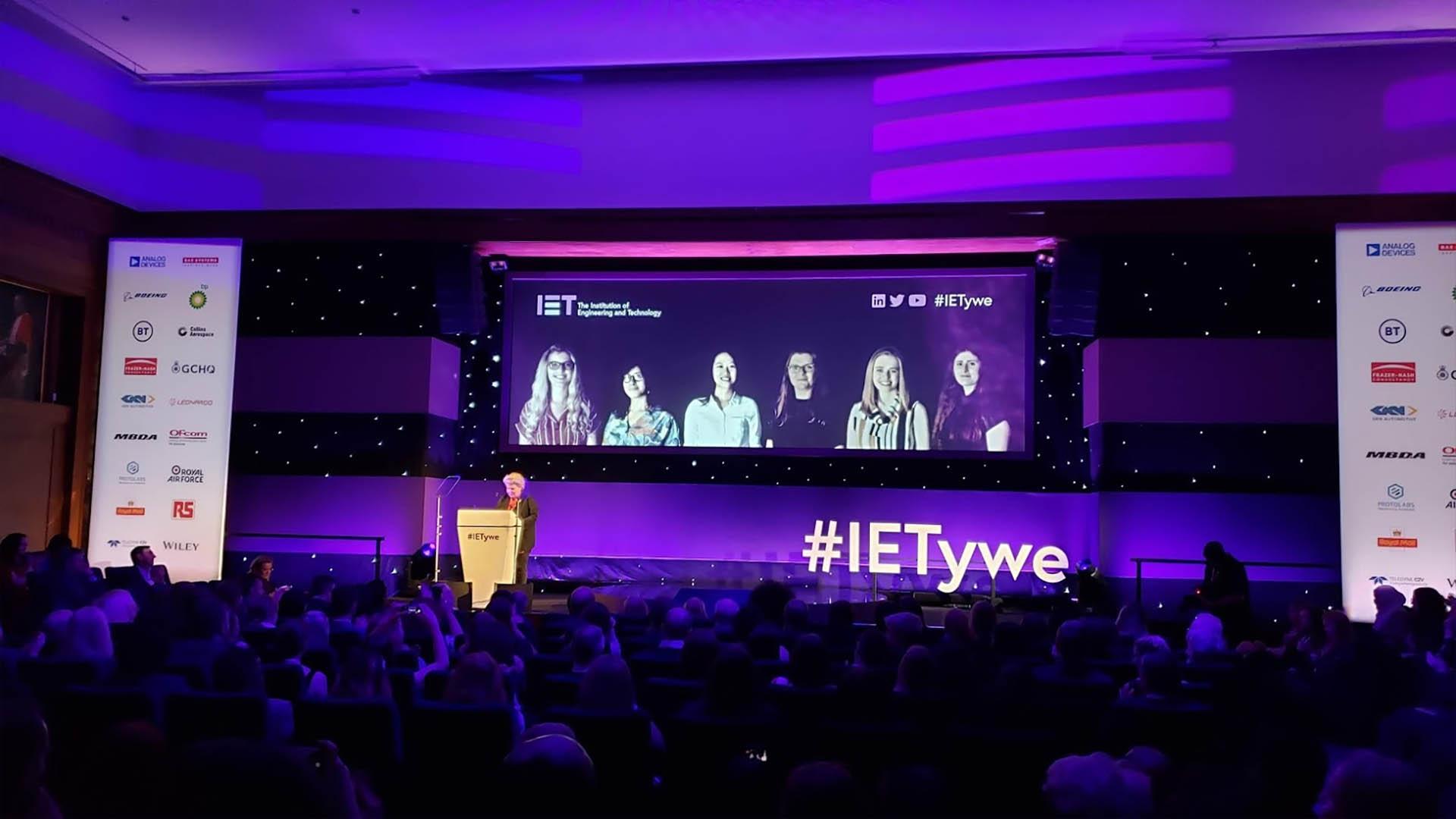 Where women work IET awards