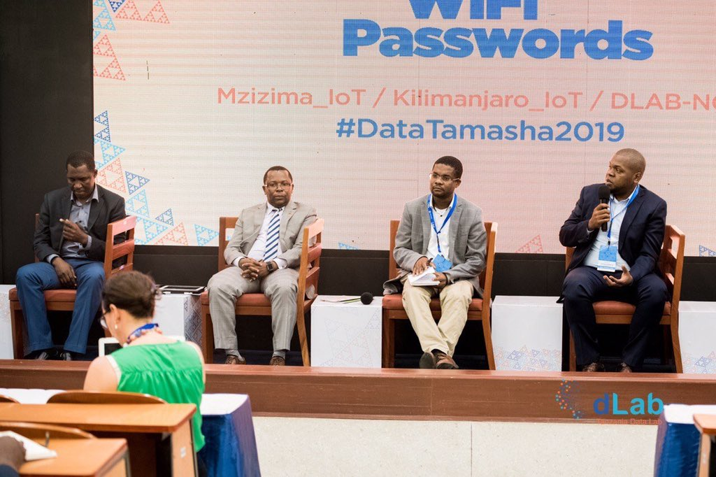 """Our CEO @J4Mtambalike yesterday at #DataTamasha2019 discussing """"Regulatory and Legal Environment on Innovation"""" He also presented about the existing innovation ecosystem in Tanzania and how we are advancing towards #AI and moderated #AI applications, challenges & opportunities.<br>http://pic.twitter.com/kvg3g9DFQA"""
