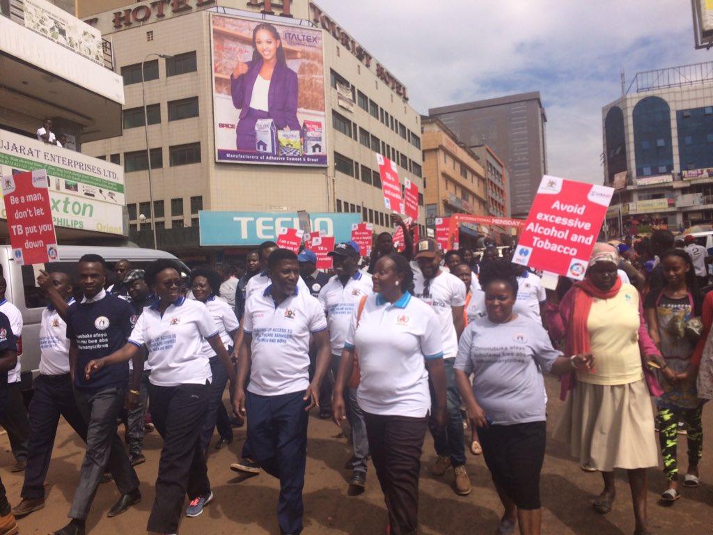 International men's day celebration in #Uganda  . End gender based violence #InternationalMensDay      @RHUganda @RHUkatego