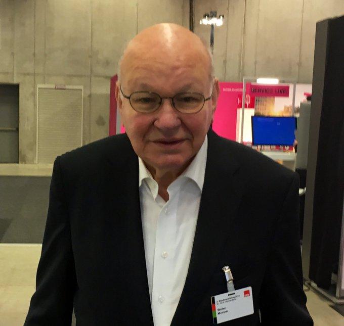 Der ehem., 11. Regierende Bürgermeister von Berlin: Walte