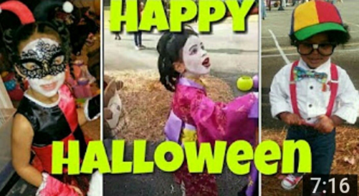 HAPPY #HALLOWEEN plus Scary Woods Adventure with #candy, costumes and a lot of fun.  Watch the video: