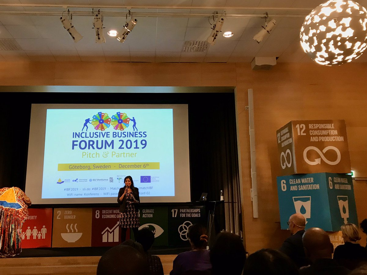 SSBP attending the #IBF2019 learning about impact of #socialentrepreneurship to find new ways on how to support our grantees in better and more innovative ways @InclBusinesspic.twitter.com/FJK8llQwLO