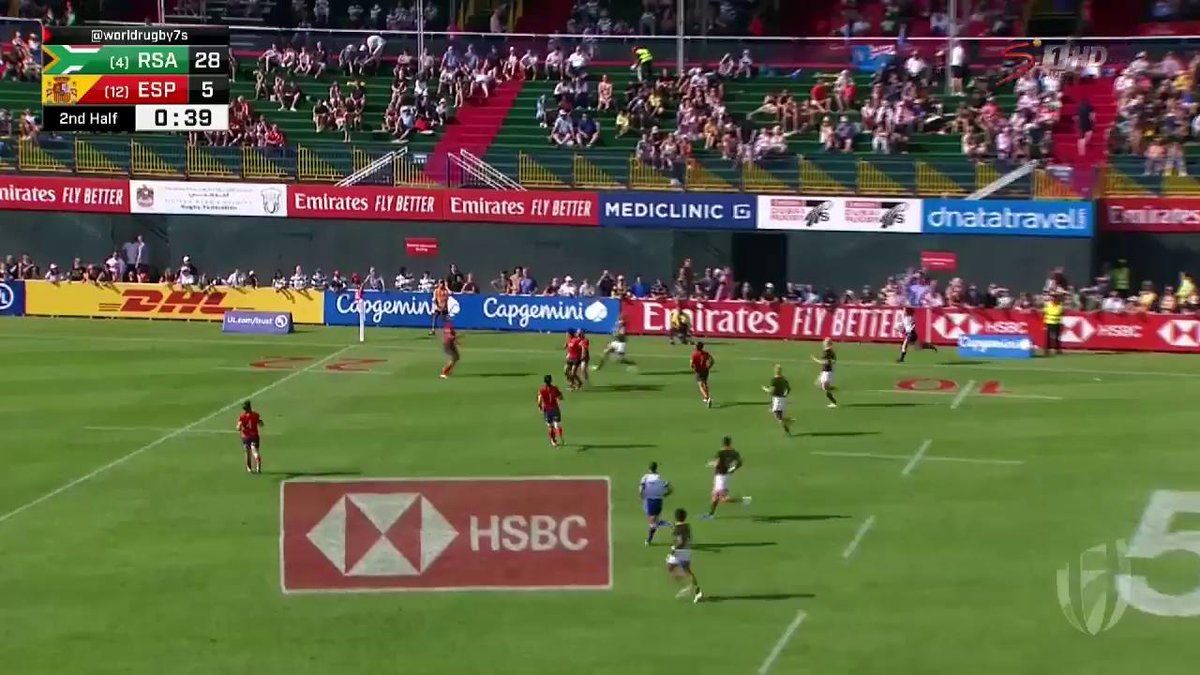 Image for the Tweet beginning: #Dubai7s - RESULT:  South Africa 33-5