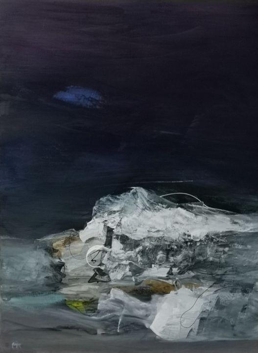 Buy: Harmonie cosmique (2019) Original Art, Painting 101.6x71.2 cm by Patricia GAGIC (France) ID 12828500 @artmajeur  #abstractpainting #art #painting #canvas #harmony @patriciagagic