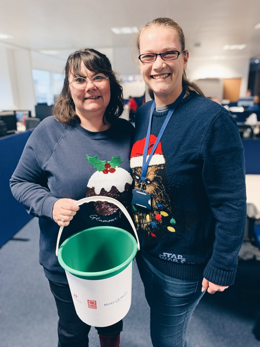 We're getting in the Christmas spirit with a Charity Christmas Jumper Day at our Hatfield headquarters today, raising money for our three chosen charity partners @DementiaUK, @TheBHF and @MakeAWishUK. Great to be supporting such fantastic causes ✨🎄