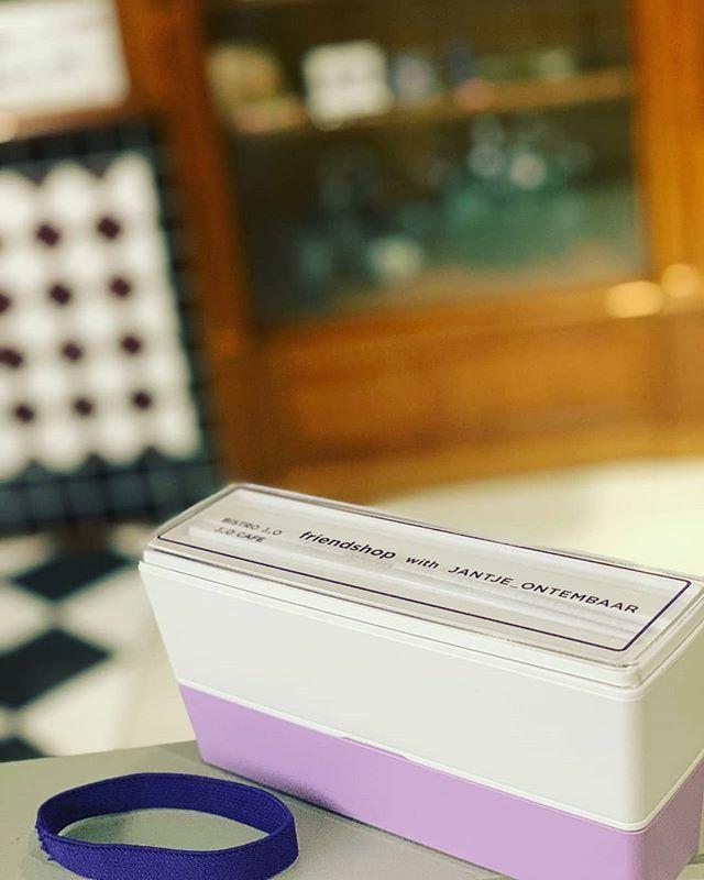 こちらのランチボックスは、スリムなのに大容量!ご飯は2膳分も入ります!ランチタイムにいかがですか?#J_O_CAFE#BISTRO_J_O#friendshop#j_o#ランチボックス#jantje_ontembaar#ヤンチェオンテンバール#銀座#GINZA#銀座velvia館