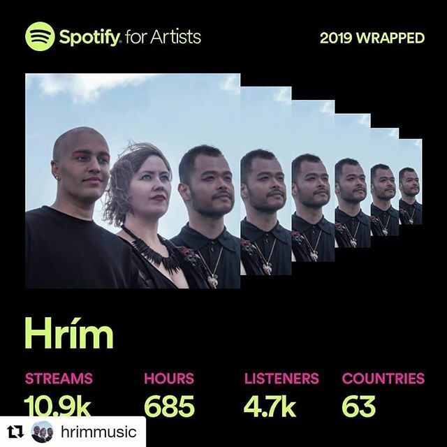 Thank you for all your support 🙏🙏🙏 we've never imagined we get so much live from all of you❤️❤️💗💗 #feelingblessed #lotsoflove #Repost @hrimmusic (@get_repost) ・・・ What a year! From releasing our first single in July to performing for the very fir…